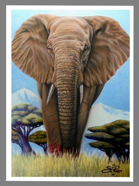 Elephant - Rader's Artshop