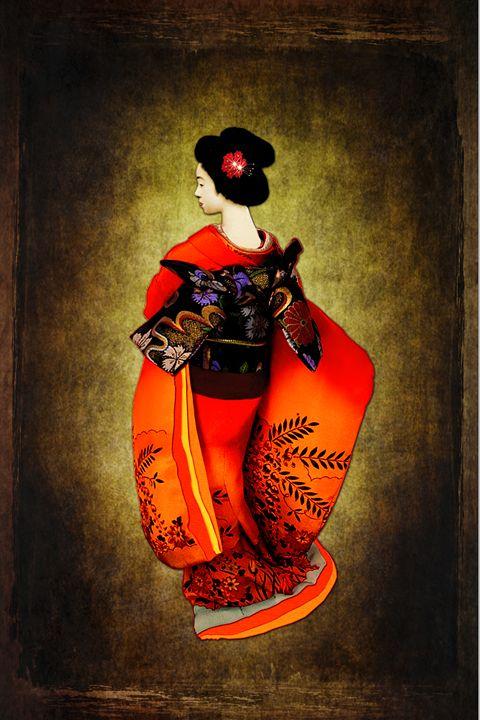 Red Geisha - Akimi Art