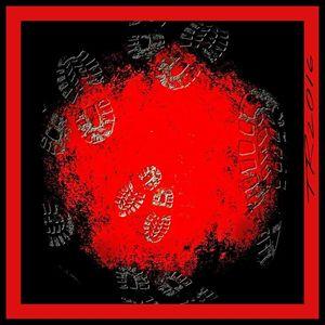Red footprints
