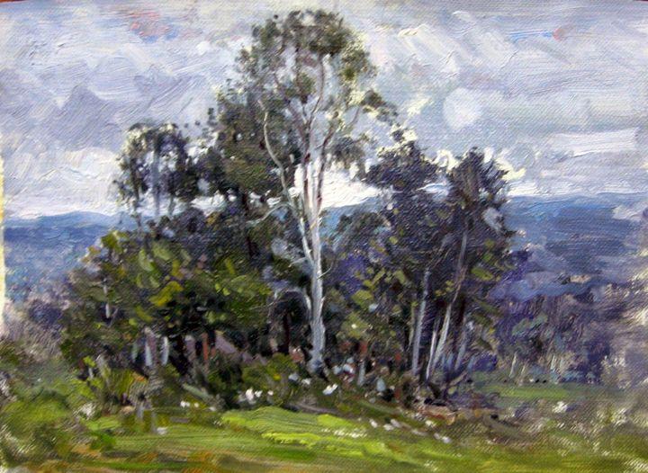 Tree Scene - David Moreschi
