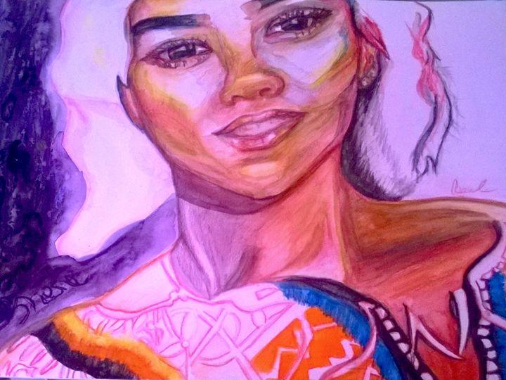 Aiko Starry Night - Aseel Refai Gallery