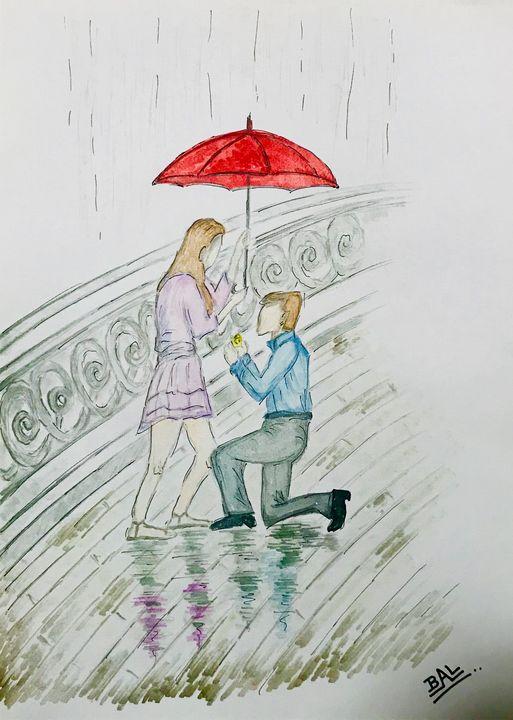 A Proposal In The Rain - BAL