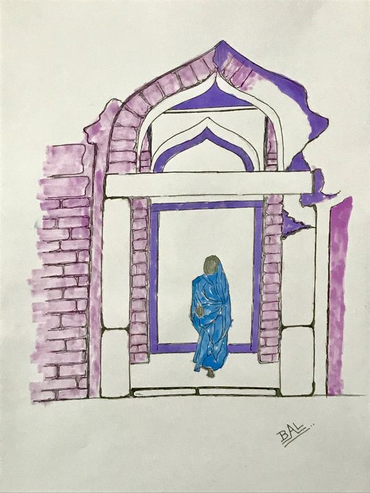 A Lady in the Temple - BAL