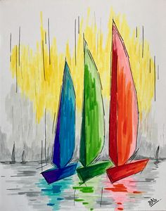 The Colourful Sails
