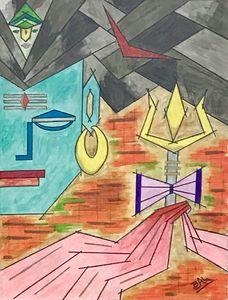 Abstract Shiva
