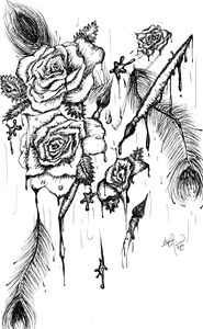 Inked Roses