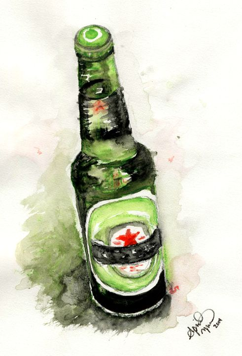 Watercolors and Alcohol - AK Arts