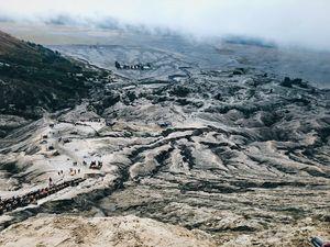Bromo from kawah view