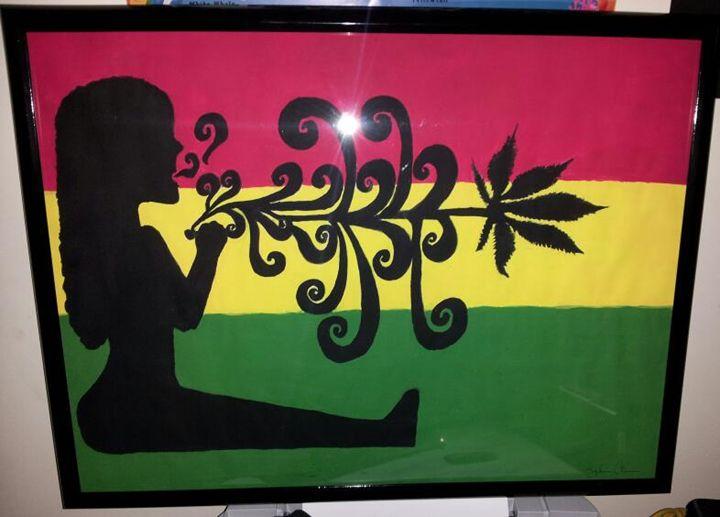 Ms Mary Jane - Shay's Shadow Art