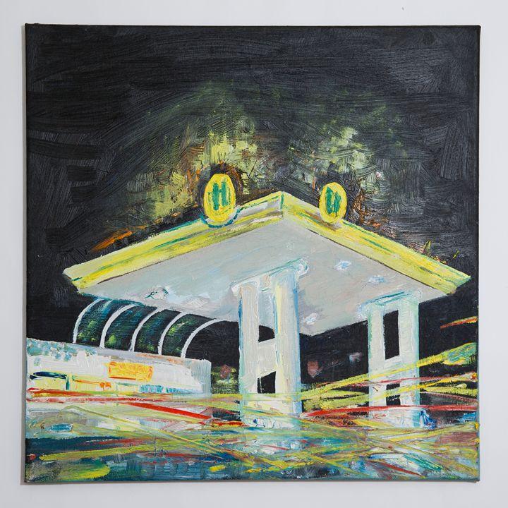 petrol station - Matej Merlot Hutta
