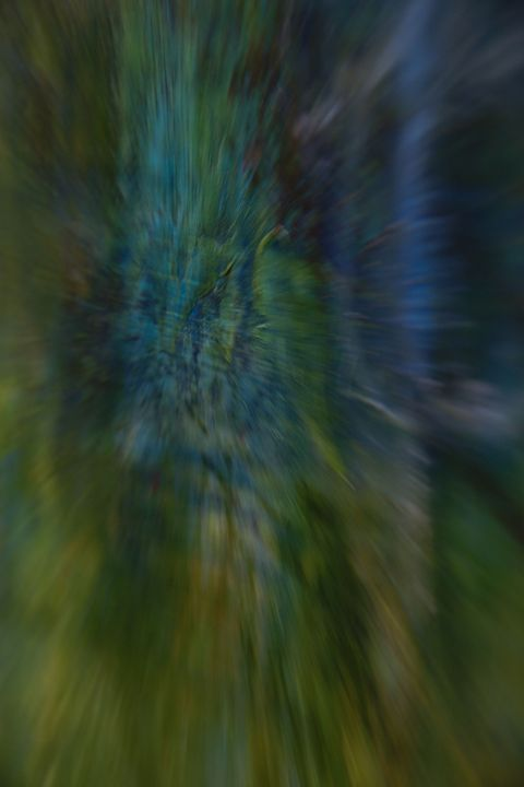 Blur (Unaltered Photo of Painting) - Jennifer Leah Jones Gallery