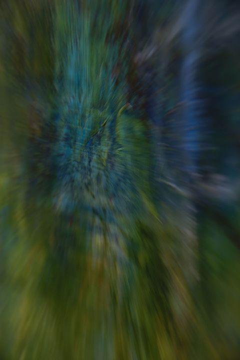 Blur (Unaltered Photo of Painting) - Jennifer Leah Jones Gallery