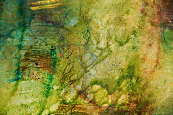 Under Water in the Pond (Dull) - Jennifer Leah Jones Gallery