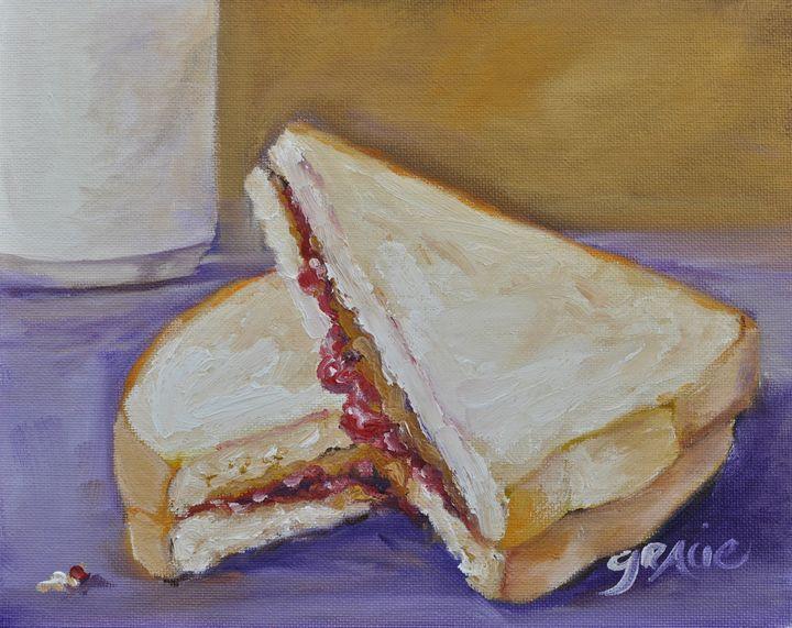 PB&J Sandwich - Gracie L Hampton