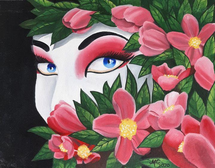Cherry and geisha - Michael canavan