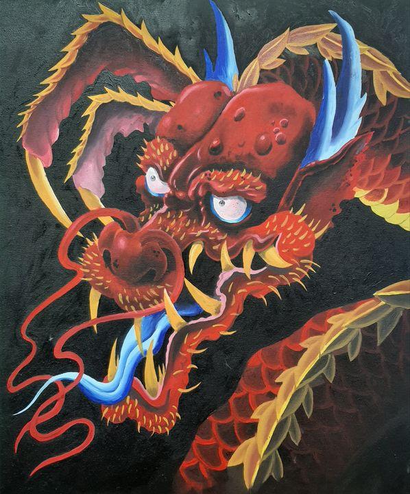 Crimson dragon - Michael canavan