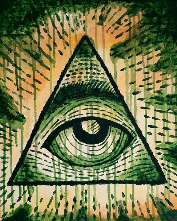 All seeing eye - Michael canavan