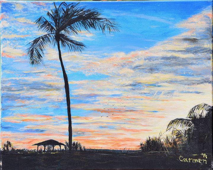 Sunset on Captiva Island - Carmen Indigo