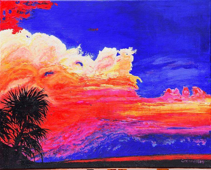 Storm into the Sunset,Captiva Island - Carmen Indigo