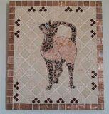 Cat mosaic Siamese