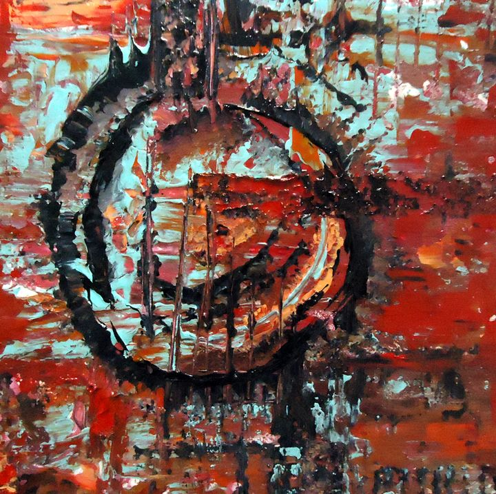 Abstract Painting - Second Page Studio