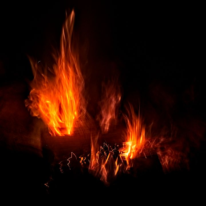 Fire - Doodles and Photos by Michele Wish