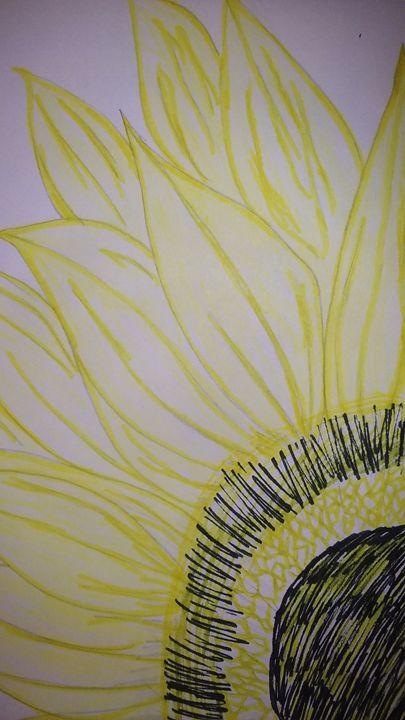 Some Sunflower - NEEDED ART BY LENA