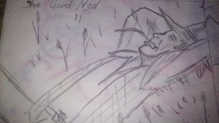 The Good Man - NEEDED ART BY LENA