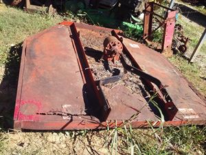 Old Hay Mower