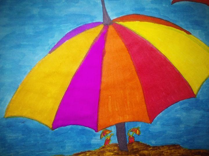 Beach Scene - NEEDED ART BY LENA