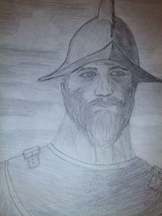 Conquistadorian Soldier - NEEDED ART BY LENA