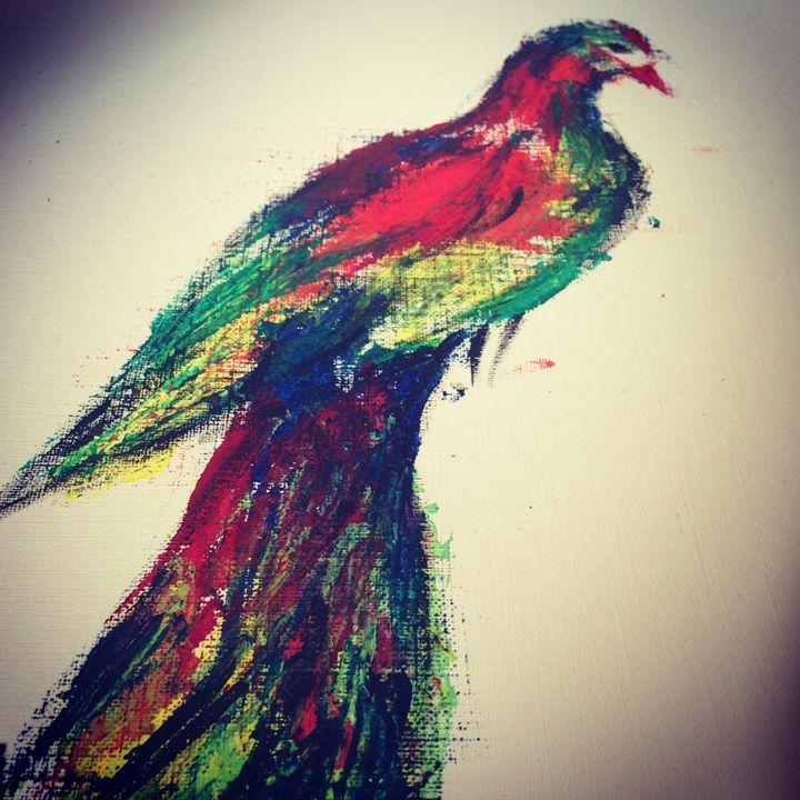 rainbow ave - Kasturi's Art expression