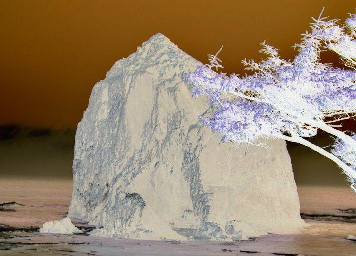 Haystack Rock Mystical Series - Photography by Trisha Allard