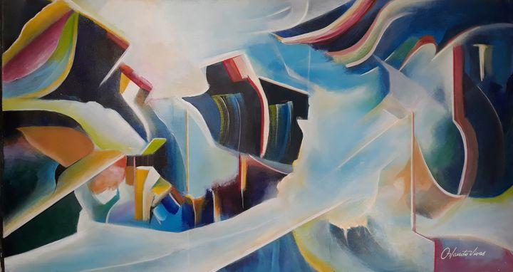 Abstracto II - Orlando Vivas Art