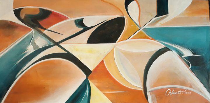 Abstracto III - Orlando Vivas Art