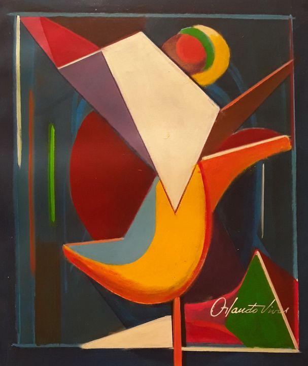 Abstracto X - Orlando Vivas Art