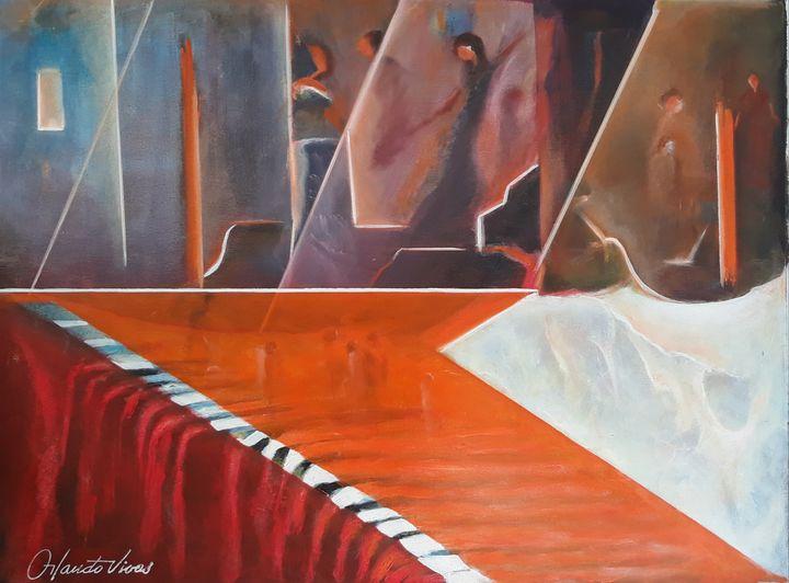 Cascada - Orlando Vivas Art