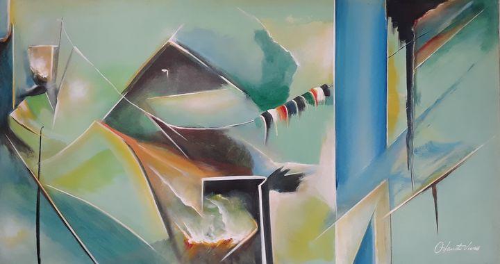 El Caliz - Orlando Vivas Art