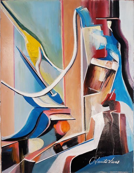 El Rostro - Orlando Vivas Art