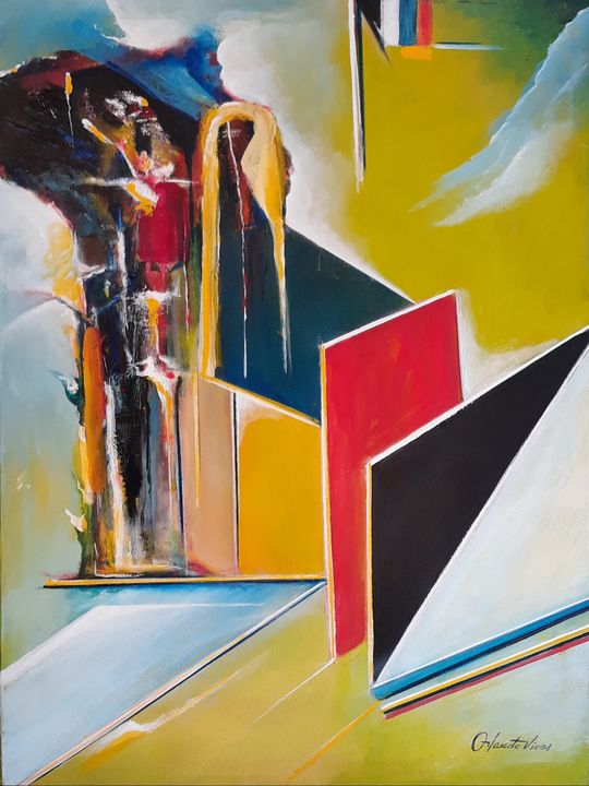 Escalera - Orlando Vivas Art