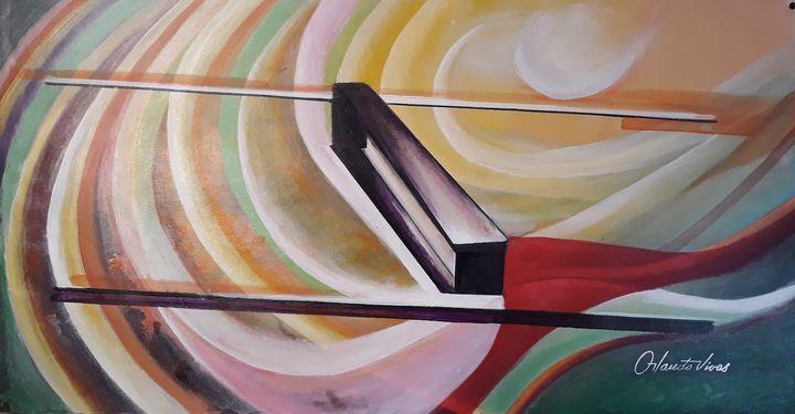 La Banqueta - Orlando Vivas Art
