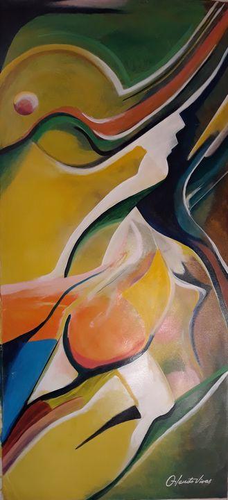 La Dama del Sombrero - Orlando Vivas Art