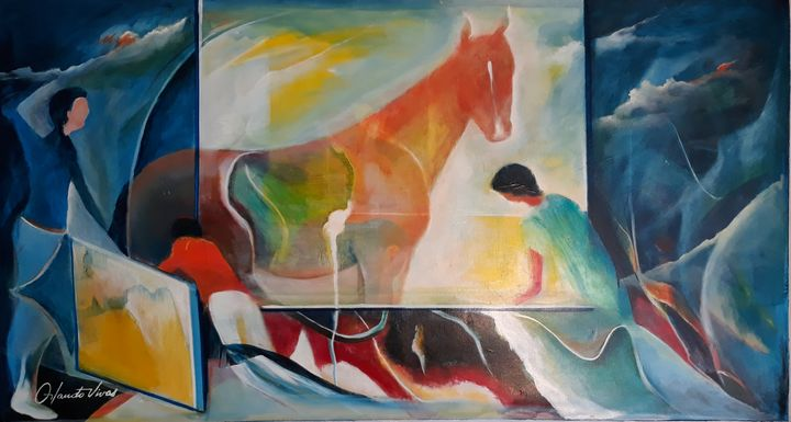 Mi Caballo - Orlando Vivas Art