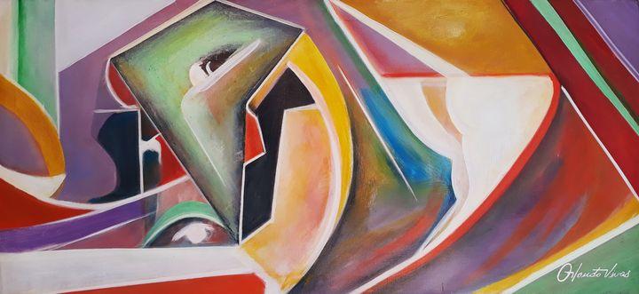 Mirada Misteriosa - Orlando Vivas Art