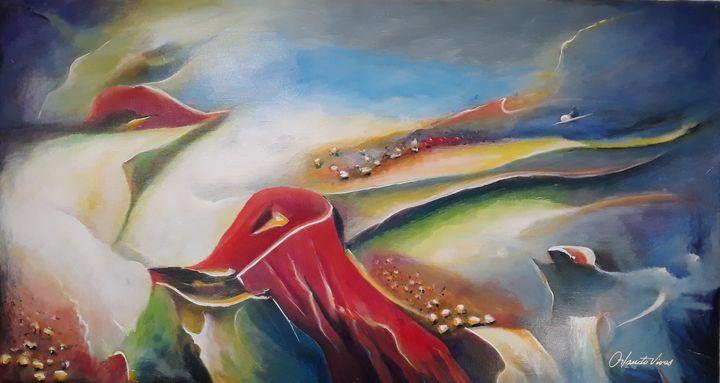 Mundo Submarino - Orlando Vivas Art