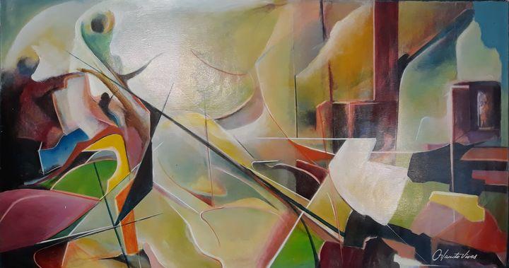 Nino Abrazando - Orlando Vivas Art
