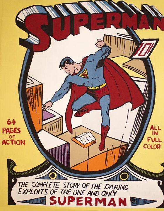 Superman 1 - Paintings