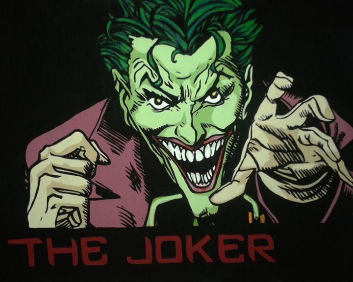 The Joker - Paintings