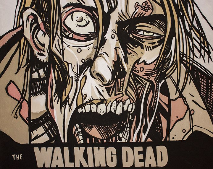 Walking Dead - Paintings