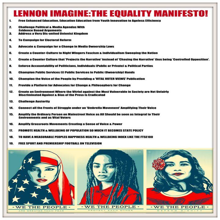 WE THE PEOPLE EQUALITY MANIFESTO - World Ethical Hacks